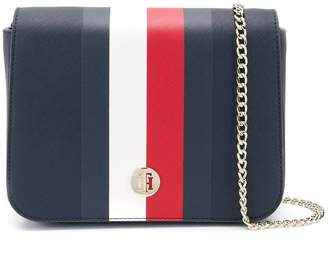 Tommy Hilfiger contrast stripe crossbody bag