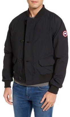 Men's Canada Goose Faber Bomber Jacket $395 thestylecure.com