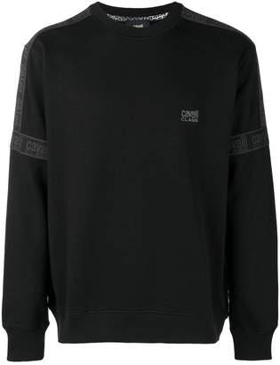 Class Roberto Cavalli embroidered logo sweatshirt