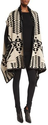 Ralph Lauren Collection Reversible Intarsia Vest, Black Pattern $3,490 thestylecure.com