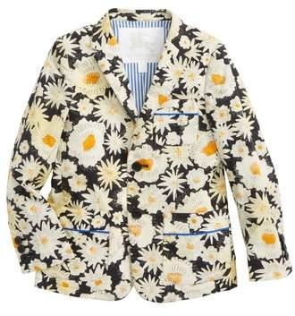 Tuxy Floral Print Jacket
