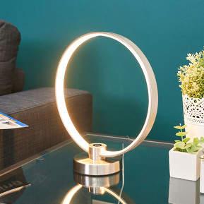 Kreisförmige LED-Tischleuchte Sidar