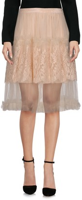 Rodarte Knee length skirts