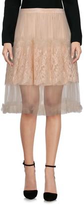 Rodarte Knee length skirts - Item 35380788QJ