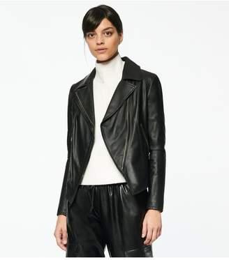 Andrew Marc Bayside Leather Scuba Jacket