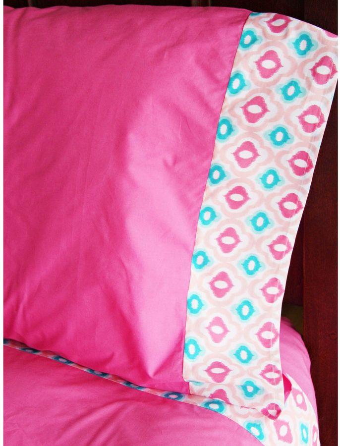 Caden LaneCaden Lane® Ikat Pink Full Sheet Set
