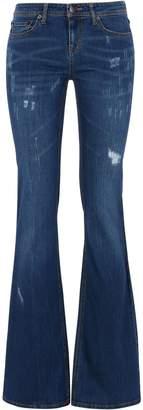 GEORGE J. LOVE Denim pants - Item 42632311