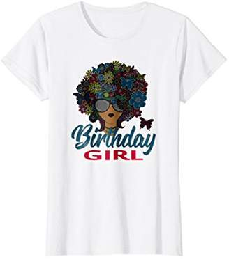 Womens Birthday Girl T-Shirt Gift for Adult and Teenager