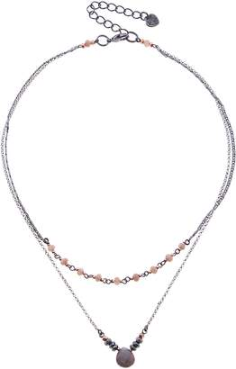 Nakamol Design Layered Moonstone Necklace