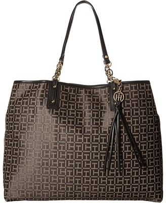 Tommy Hilfiger Leila Tote $118 thestylecure.com