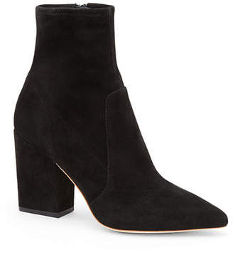 Loeffler Randall Isla Suede Chunky-Heel Boots