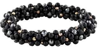 Meredith Frederick Jewelry Spinel & Onyx Bead Bracelet