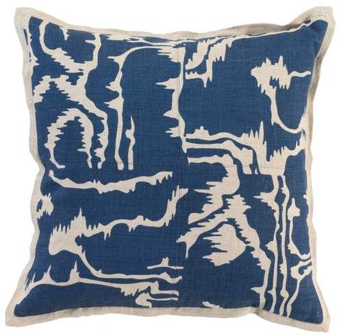 Adna Toss Pillow NAVY