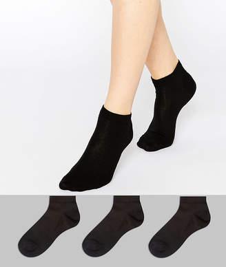 Asos DESIGN 3 pack sneaker socks