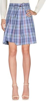 Incotex Knee length skirts