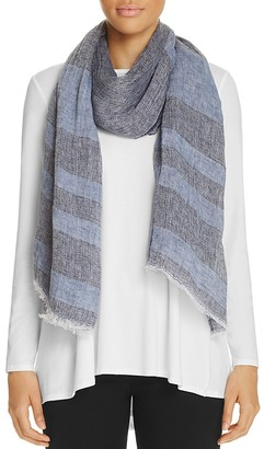 Eileen Fisher Striped Scarf - 100% Exclusive $98 thestylecure.com