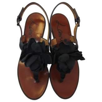 Lanvin Cloth flip flops