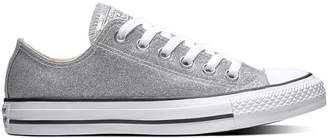 Converse Ctas Ox Womens Glitter Sneakers