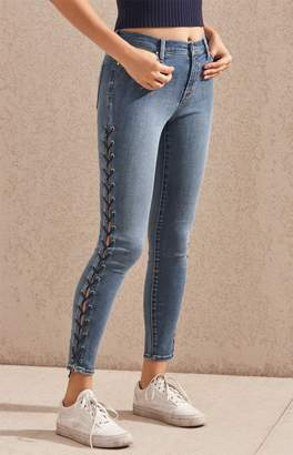 PacSun Bombshell Blue High Rise Jeggings