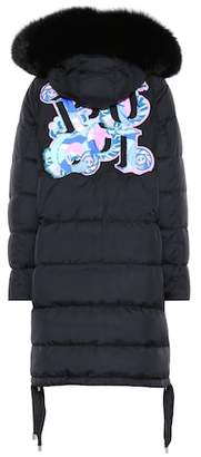 Emilio Pucci Fur-trimmed down jacket