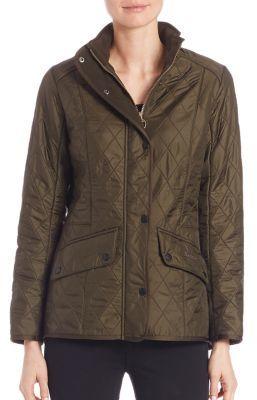 Barbour Cavalry Polarquilt Jacket $279 thestylecure.com
