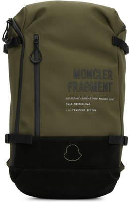 Moncler Genius 7 Fragment Hiroshi Fujiwara Green Zaino Backpack