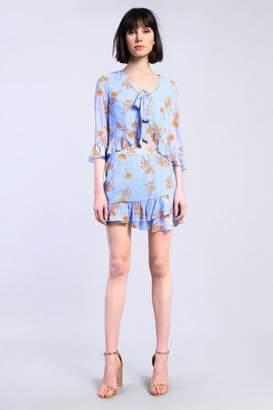 Glamorous **Floral Ruffle Skirt