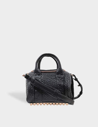 Alexander Wang Mini Rockie Rose Gold Finish