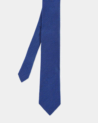Ted Baker BRUNE Semi plain woven silk tie