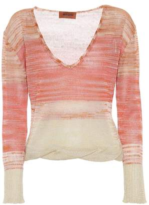 Missoni Linen and cashmere-blend sweater