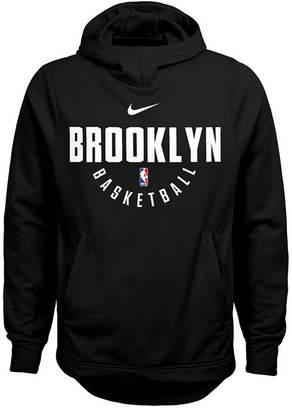 Nike Brooklyn Nets Elite Practice Hoodie, Big Boys (8-20)