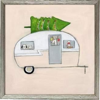 Camper Harriet Bee Amboise Happy Amboise Mini Framed Canvas Art