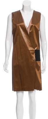 Reed Krakoff Lcord Silk Wrap Dress w/ Tags