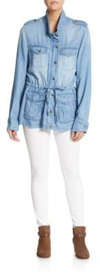 Chambray Field Jacket $129.99 thestylecure.com