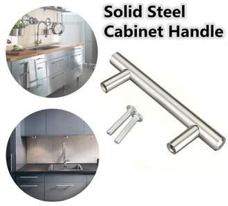 Generic Stainless Steel T bar Modern Kitchen Cabinet Door Handles Drawer Pulls Knobs