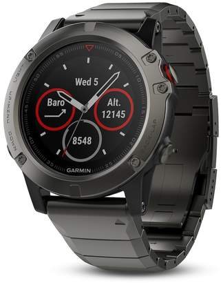Garmin fenix 5x Sapphire Activity Tracker with Metal Band
