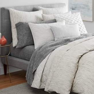 west elm Washed Melange Jacquard Bedding Set