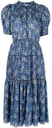 Ulla Johnson floral print midi dress