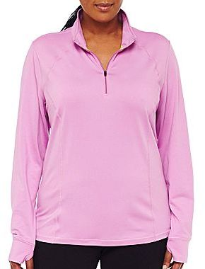 JCPenney XersionTM 1/2-Zip Jacket - Plus