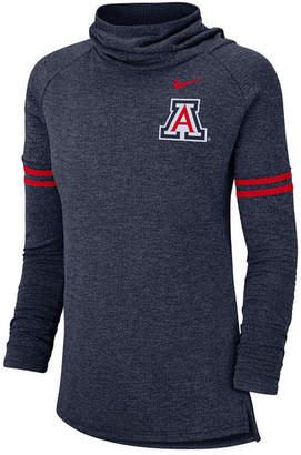Nike Women's Arizona Wildcats Logo Funnel Neck Long Sleeve T-Shirt