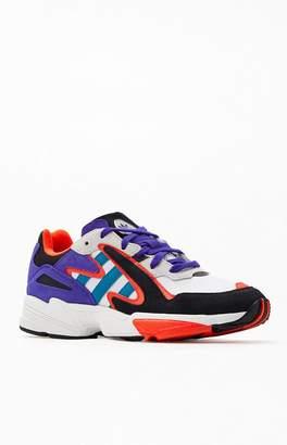 adidas White & Purple Yung-96 Chasm Shoes