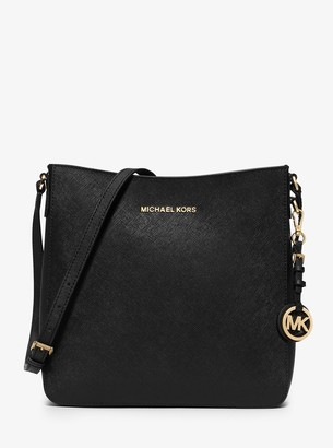 MICHAEL Michael Kors Jet Set Travel Large Saffiano Leather Messenger