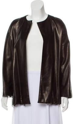 Donna Karan Lightweight Leather Jacket