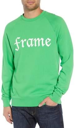 Frame Slim Fit Logo Sweatshirt