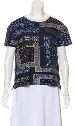 Opening Ceremony Printed Short Sleeve Top
