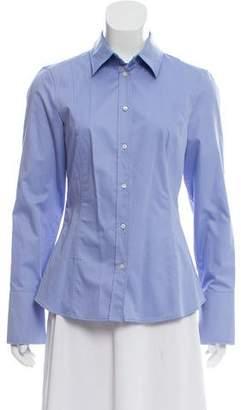 HUGO BOSS Boss by Long Sleeve Button-Up Top