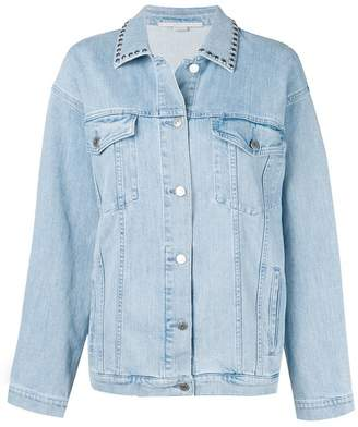Stella McCartney studded bird denim jacket