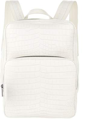 Bottega Veneta Crocodile Backpack