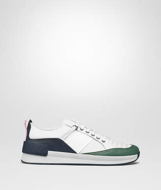 Bottega Veneta MULTICOLOR CALF BIANCO FABRIC GRAND SNEAKER