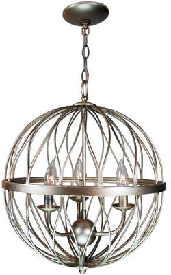 Three Posts Brittain 3-Light Globe Pendant